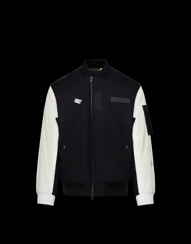 HANDLEY Black Category Bomber Jacket Man