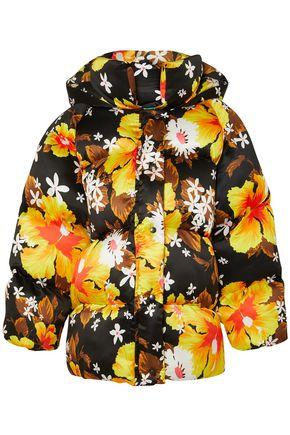 RICHARD QUINN Oversized floral-print shell jacket