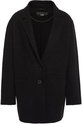 LINE Wool-blend bouclé coat