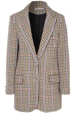 EMILIA WICKSTEAD Michelle houndstooth tweed blazer