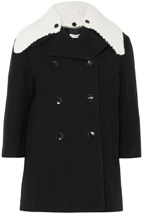 ALTUZARRA Double-breasted wool-blend coat