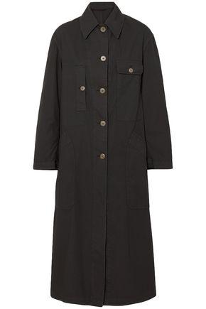 DRIES VAN NOTEN Oversized cotton-blend coat