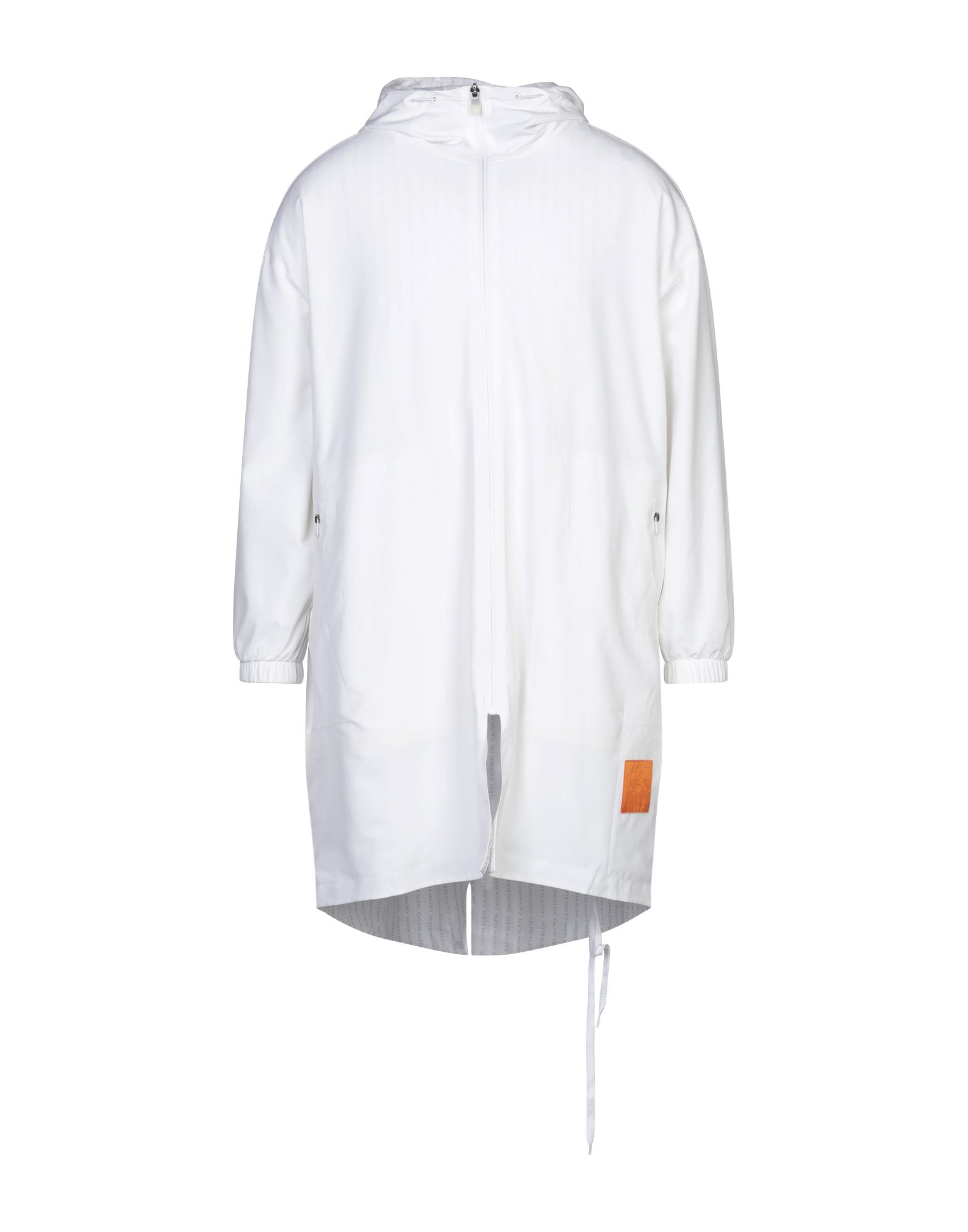 《セール開催中》CALVIN KLEIN PERFORMANCE メンズ ライトコート ホワイト S ポリエステル 85% / ポリウレタン 15%
