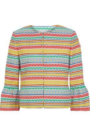 ALICE + OLIVIA Kidman cotton-blend jacquard jacket