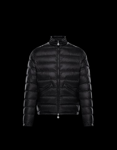 AGAY Black Down Jackets Man