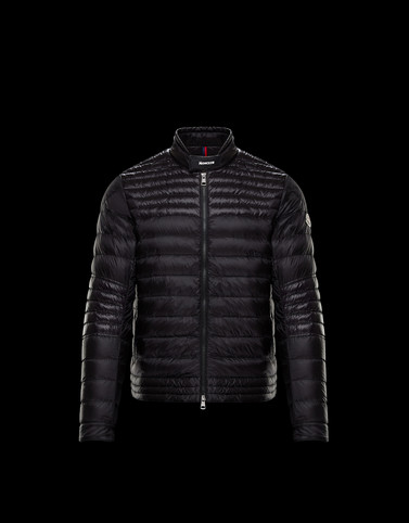 KAVIR Black Down Jackets Man
