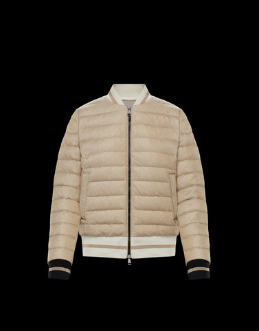 OR Beige Category Bomber Jacket