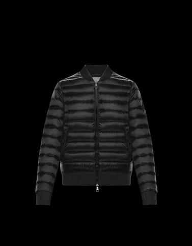 ABRICOT Black Category Bomber Jacket Woman