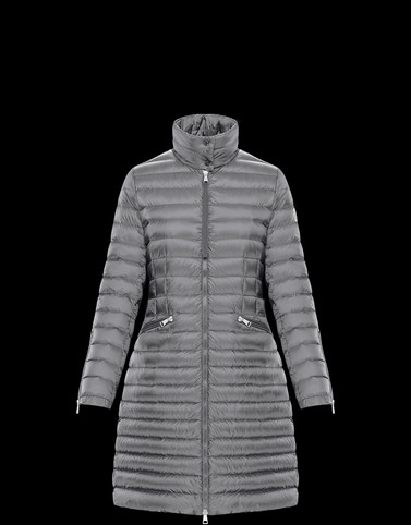 SABLE Grey Short Down Jackets Woman