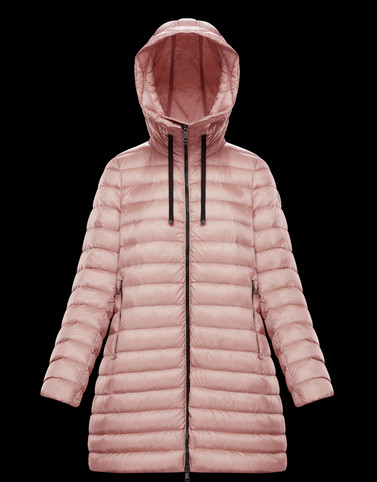 RUBIS Pink Category Long outerwear Woman