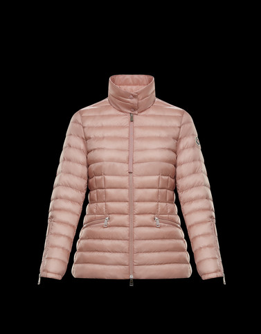 SAFRE Pink Short Down Jackets Woman