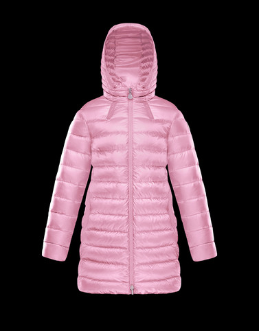 JACINTE Light pink Category Long outerwear Woman