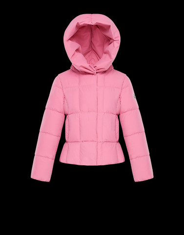 GIROFLEE Pink Category Short outerwear Woman