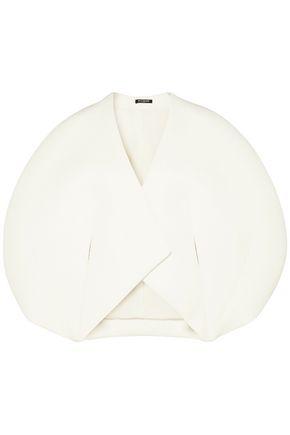 BALMAIN Oversized neoprene top