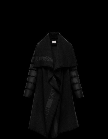 CLOAK Black View all Outerwear Woman