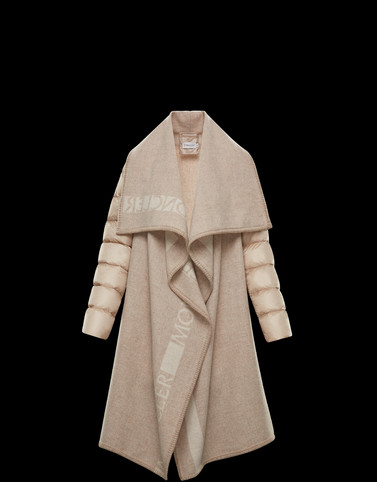 CLOAK Beige Category Capes Woman