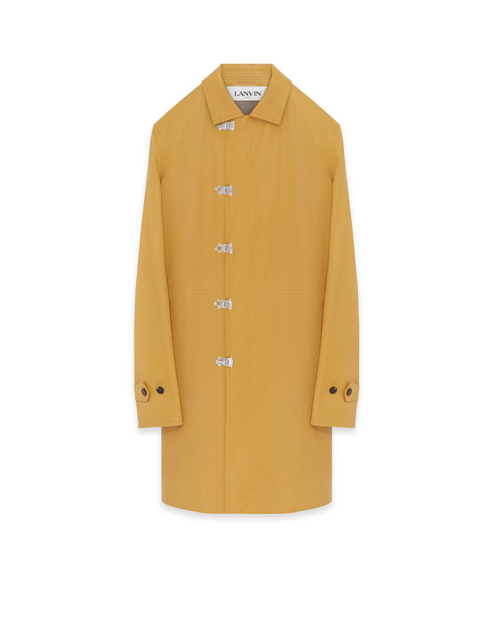 MANTEAU MACKINTOSH EN CUIR - Lanvin