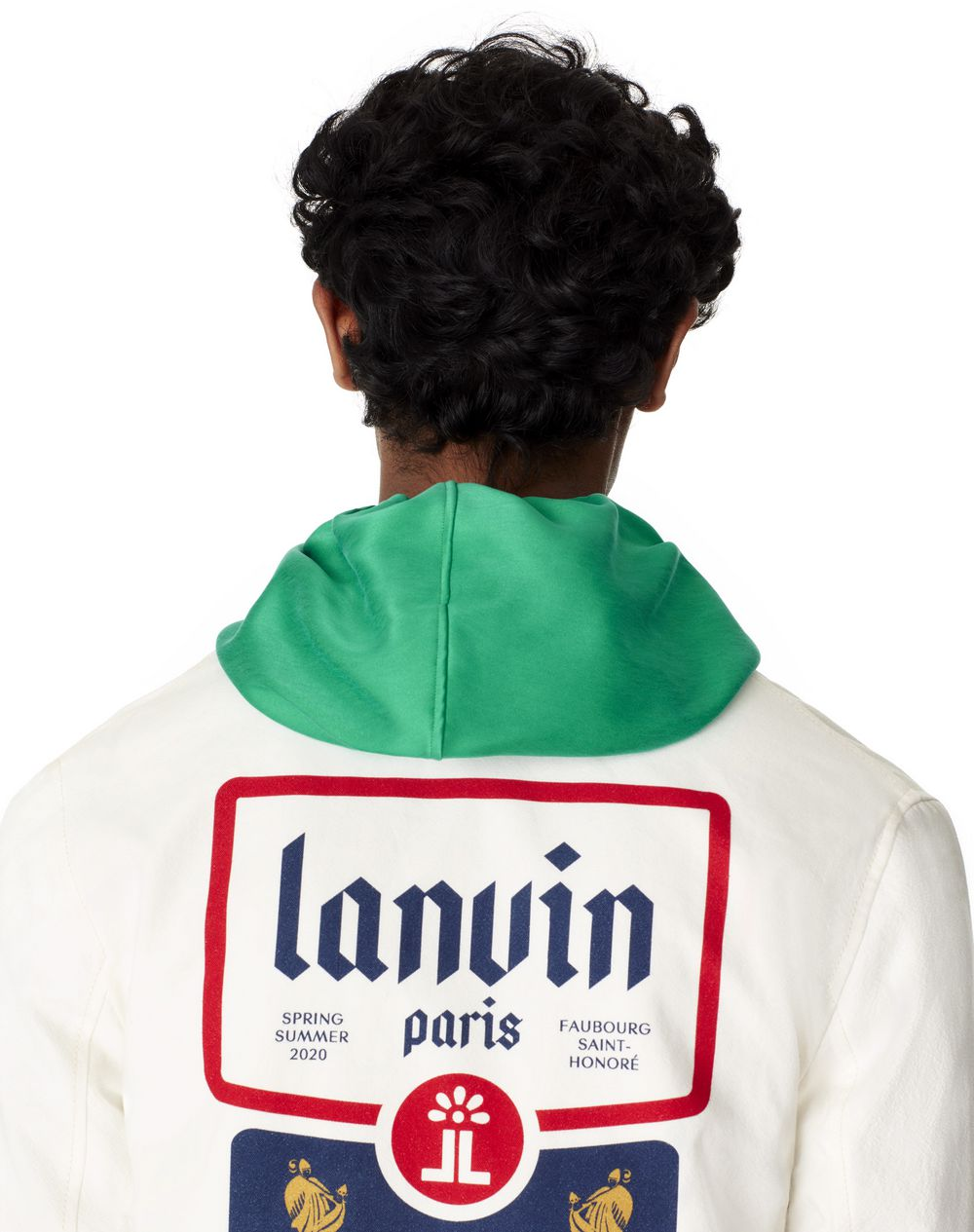 COTTON SHORT JACKET  - Lanvin