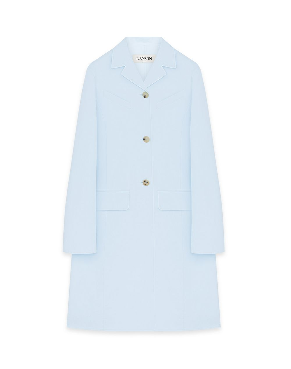 WAISTED TAILORED COAT  - Lanvin