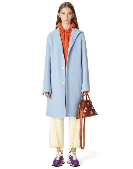 WOOL AND CASHMERE COAT - Lanvin
