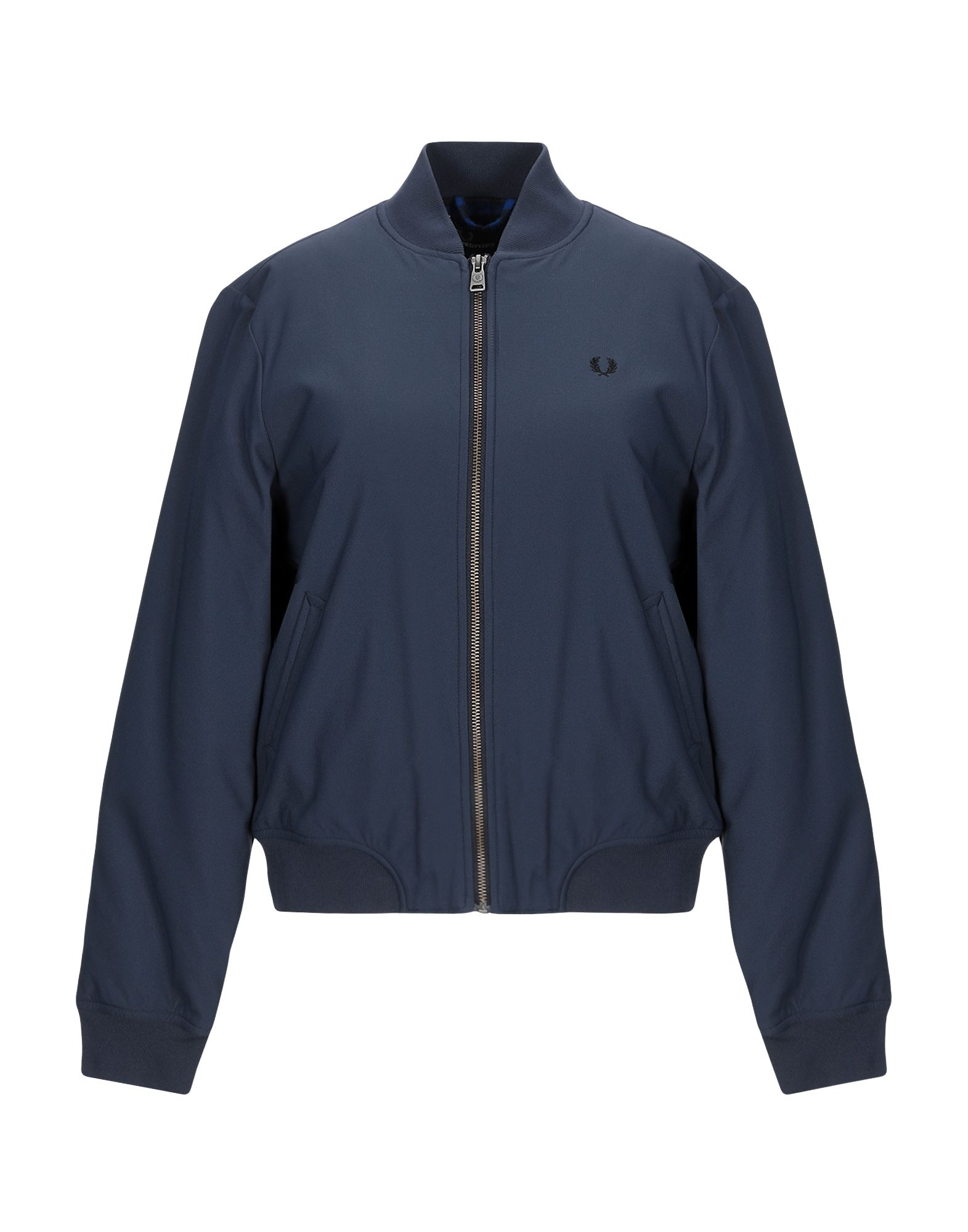 Fred Perry Jacket In Dark Blue