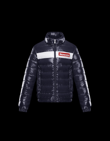 PETICHET Dark blue Category Bomber Jacket Man