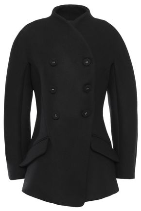 PROENZA SCHOULER Double-breasted flared wool-blend coat