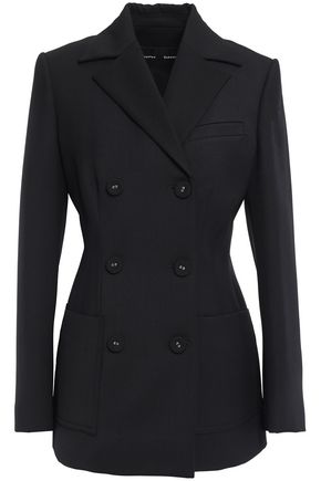 PROENZA SCHOULER Double-breasted stretch wool-twill blazer