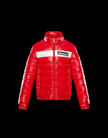 PETICHET Red Category Bomber Jacket Man
