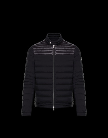 CYR Black Down Jackets Man
