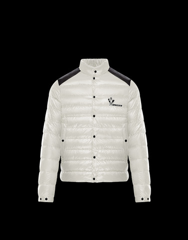 ALTON Ivory Down Jackets Man