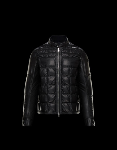 TRIONPHE Black Down Jackets Man
