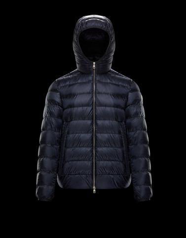 EMAS Dark blue Down Jackets Man