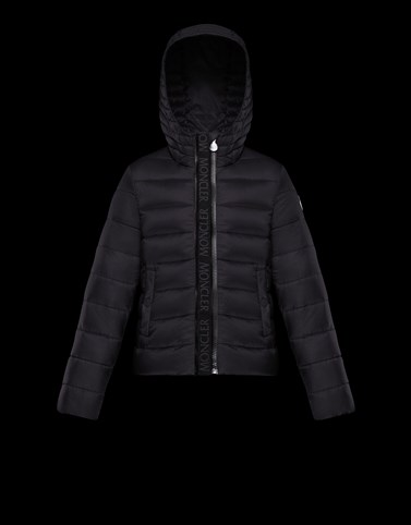 GLYCINE Black Category Short outerwear Woman