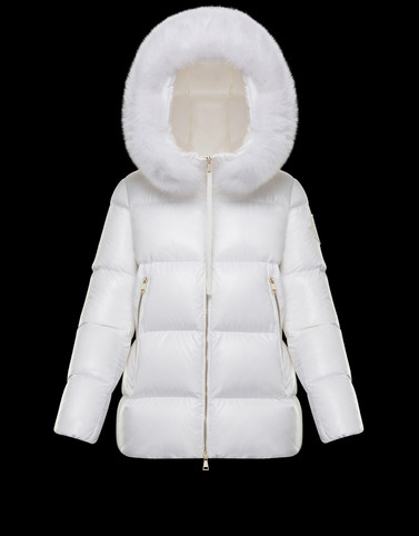 GIVRE White Short Down Jackets Woman