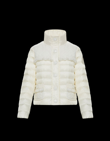 LUNAIRE Ivory Category Short outerwear Woman