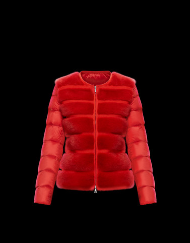 CANNELLE Red Category Short outerwear