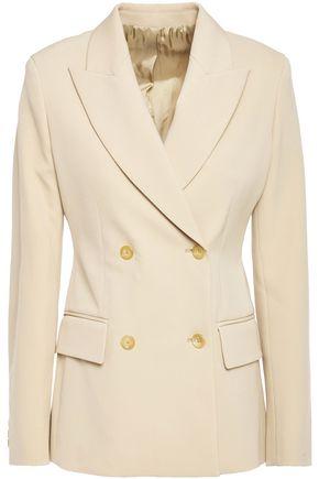 JOSEPH Double-breasted wool-blend twill blazer