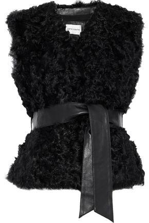 ANTIK BATIK Sheela belted wool vest
