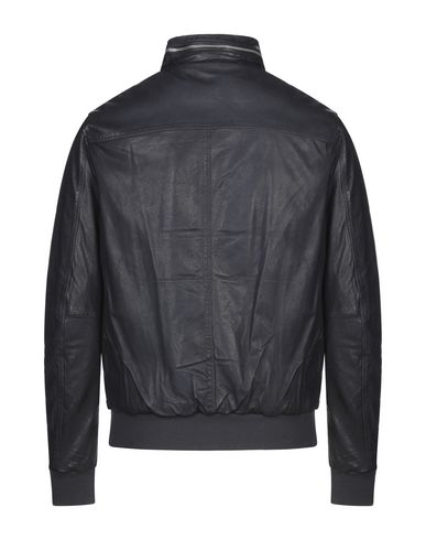 Фото 2 - Мужскую куртку MINORONZONI темно-синего цвета