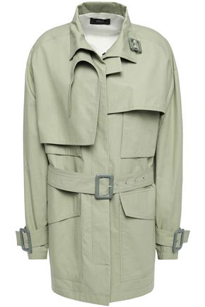 JOSEPH Belted cotton trench coat