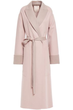ROKSANDA Belted wool and cashmere-blend coat
