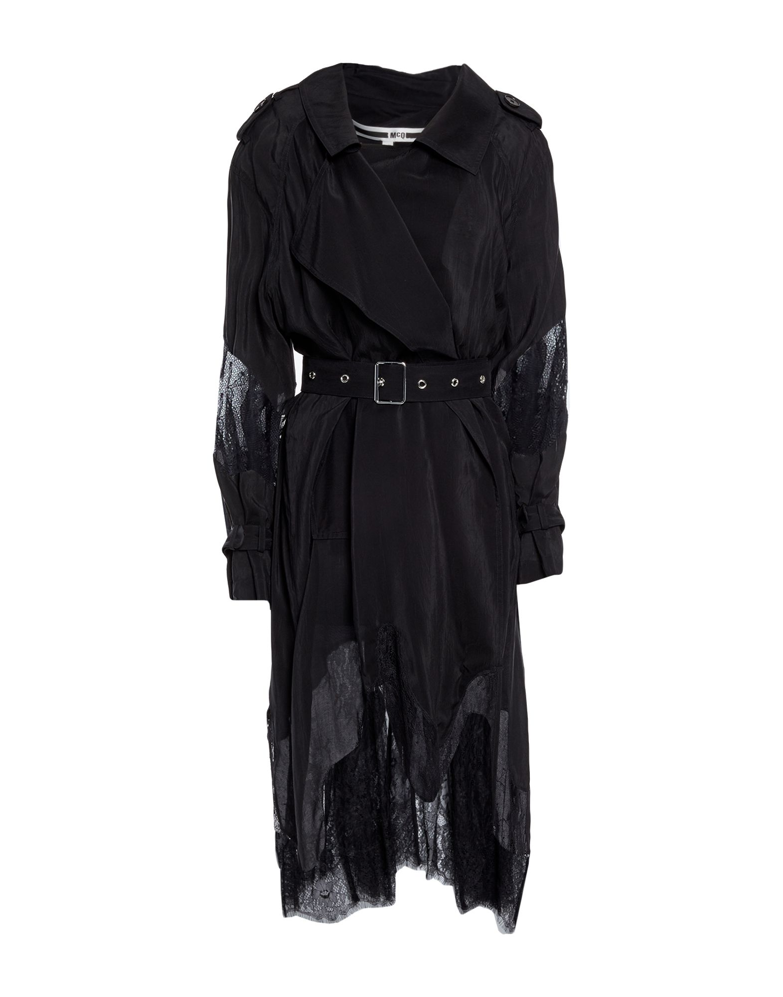McQ Alexander McQueen Легкое пальто ремень alexander tsiselsky alexander tsiselsky mp002xm0ydly