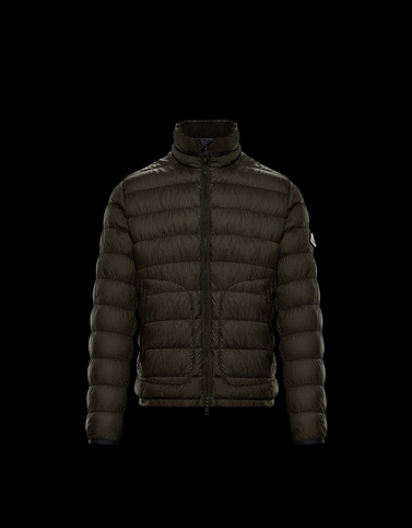 OCTAVIEN Dark green Down Jackets Man