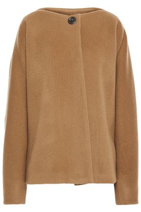 CHALAYAN Oversized brushed wool and cashmere-blend coat