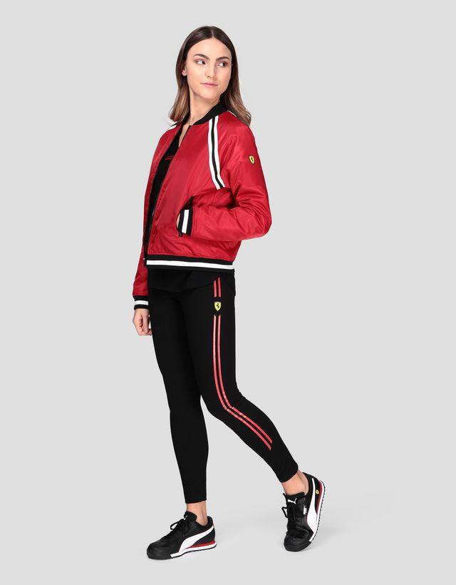 Scuderia Ferrari Online Store - Bomber rembourré pour femme - Bombers et vestes de sport