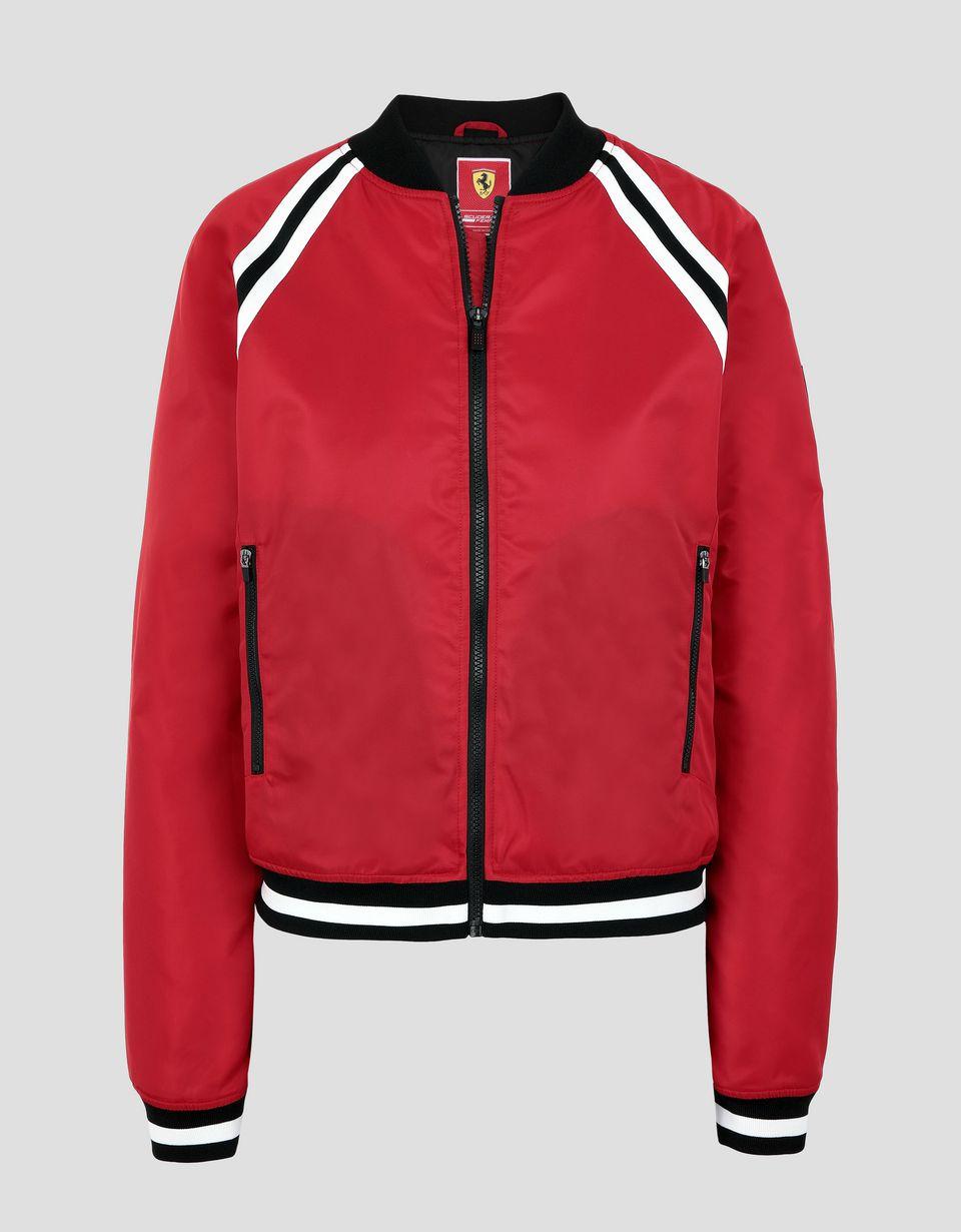 Scuderia Ferrari Online Store - Padded women's bomber jacket - Bombers & Track Jackets
