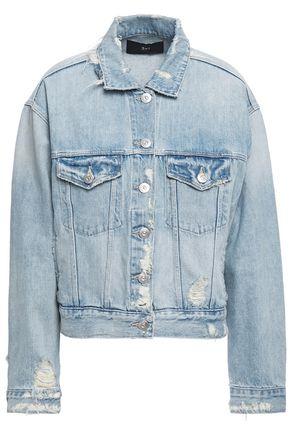 3x1 Farrow distressed denim jacket