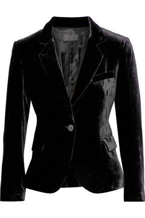 NILI LOTAN Edric velvet blazer