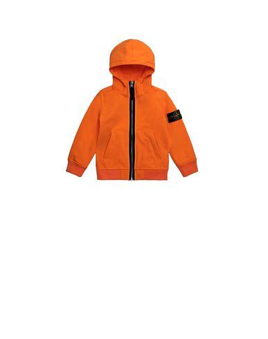 STONE ISLAND BABY 40734 LIGHT SOFT SHELL-R Jacket Man Fluo orange EUR 223